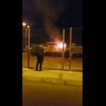 FCAB denuncia incendio de tren durante movilizaciones y anuncia querella contra responsables