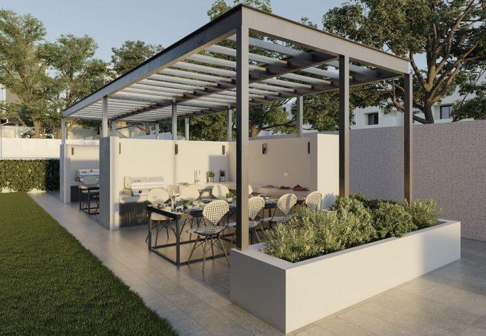 El boom de los espacios exteriores en edificios