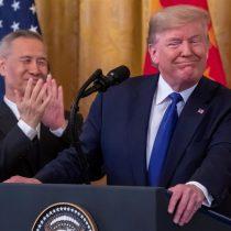 Tregua a la guerra comercial: Trump sella con viceprimer ministro chino la primera fase del acuerdo