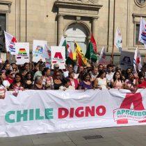 """Comando """"Chile Digno"""" lanza oficialmente campaña por nueva Constitución y asegura que seguirán apoyando el movimiento social"""