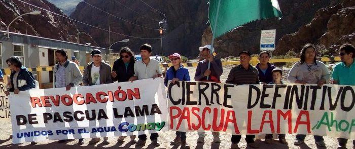 """Asamblea del Valle del Huasco arremete contra Barrick y las autoridades: """"Pascua Lama no se debió ni se debe permitir nunca"""""""