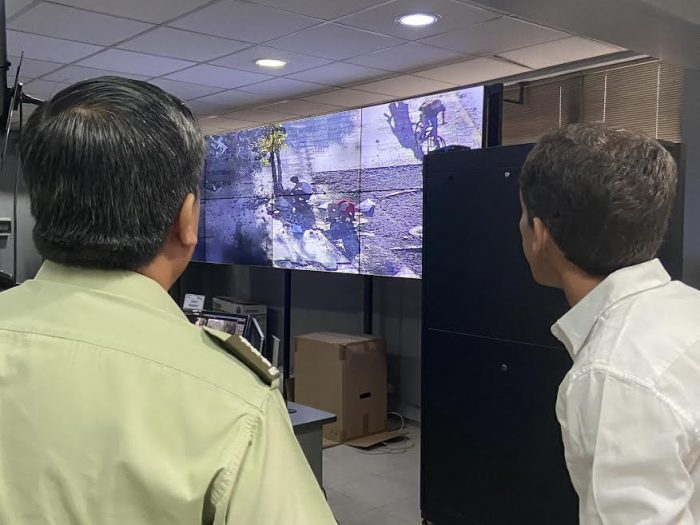 Municipalidad de Santiago aplicará Rompe-Paga contra detenido por destruir veredas en calle Merced