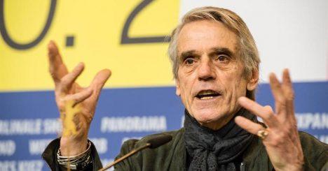 Berlinale: Jeremy Irons un jurado comprometido y distanciado de su antiguas opiniones