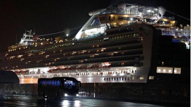 Coronavirus: la evacuación del crucero Diamond Princess, el