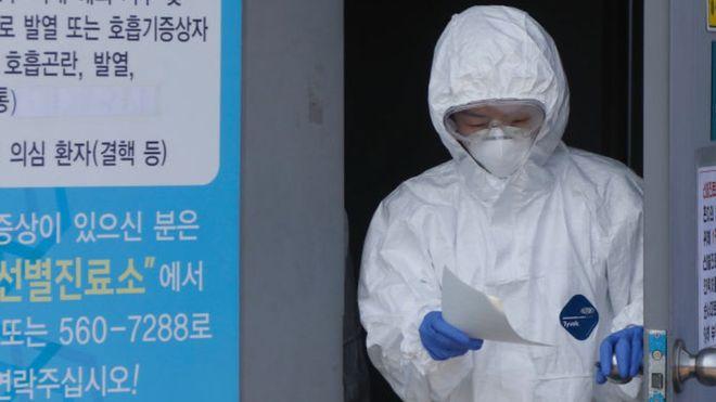 Caso de superpropagación de coronavirus en Corea del Sur: la mujer seguidora de una secta sospechosa de infectar a decenas de personas