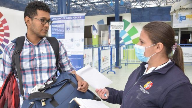 Ecuador confirma su primer caso de coronavirus