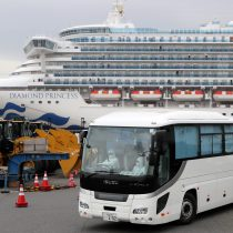 """79 nuevos casos de coronavirus y """"caos"""" a bordo de crucero en Japón"""