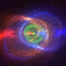 Desde Chile astrónomos captan una lejana