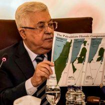 Presidente palestino Mahmud Abás rompe
