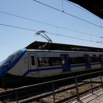 Cuatro de los 20 sujetos que rayaron un vagón del Metro de Valparaíso fueron detenidos