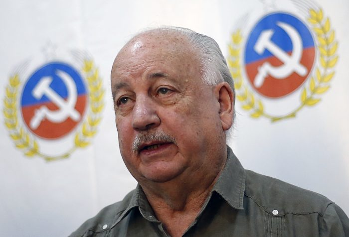Teillier confirma que habrá candidatura presidencial del PC y no descarta ir directo a primera vuelta