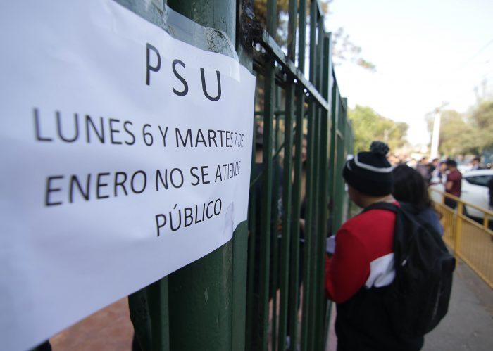 CDE presenta querella contra los que resulten responsables de la filtración de la PSU de Historia