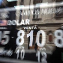Dólar registra leve alza pese a comenzar la jornada con una fuerte caída