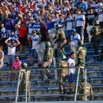 Único hincha detenido por incidentes en partido entre Católica y O'Higgins quedó con prohibición de entrar al estadio por 14 años