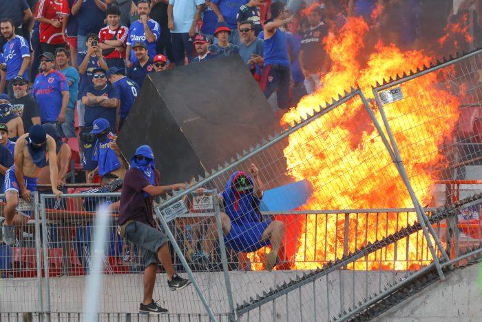 Mano dura en el fútbol: Intendencia Metropolitana tomó decisiones ante hechos de violencia ocurridos en partidos de Católica y Universidad de Chile