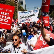 Organizadores cifran en más de 500 los asistentes a manifestación por el rechazo a la nueva Constitución