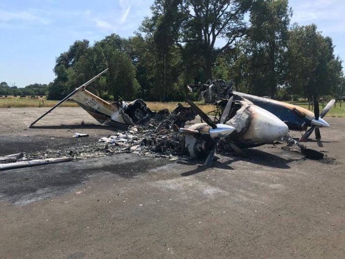 Gobierno presenta querella por ataque incendiario contra avioneta en la comuna de Río Bueno