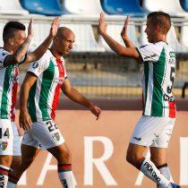 Ganó, gustó y goleó: Palestino superó a Cerro Largo y está a un paso de la fase de grupos de la Copa Libertadores