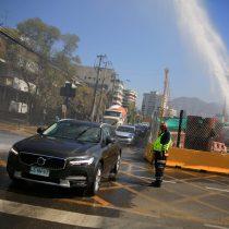 Error en los trabajos de construcción de la Autopista Américo Vespucio Oriente provocó gran rotura de matriz de agua en Las Condes