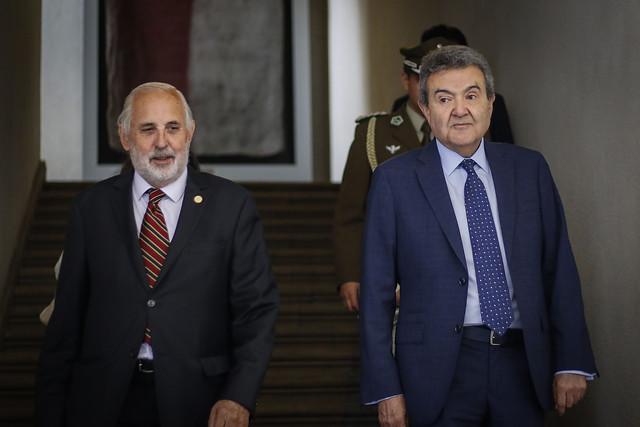 Piñera solicita colaboración del Poder Judicial para avanzar en