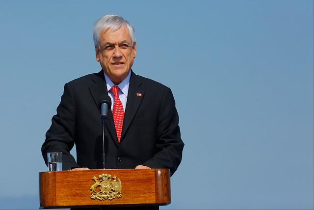 En discurso de conmemoración del 27F: Piñera insiste en condenar a los violentistas y hace llamado a