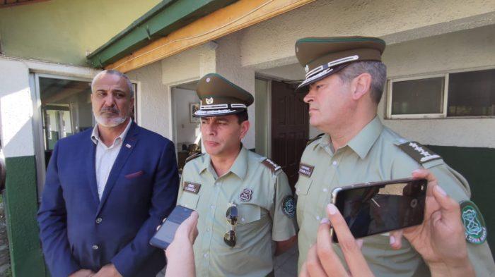 Intendente del Maule condena ataque que sufrió Tenencia Abate Molina de Talca: