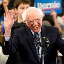 Bernie Sanders gana primarias demócratas en New Hampshire