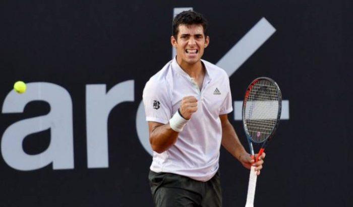En el mejor momento de su carrera: Garín vence a Coria y pasa a las semifinales del ATP 500 de Río de Janeiro