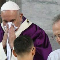 El Papa no asistió a una misa en medio de la alerta por el coronavirus en Italia