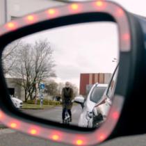 Exit Warning: la nueva tecnología para evitar accidentes entre ciclistas y autos