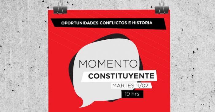 "Foro territorial: ""Momento Constituyente: oportunidades, conflicto e historia"" en La Casona Hostel"