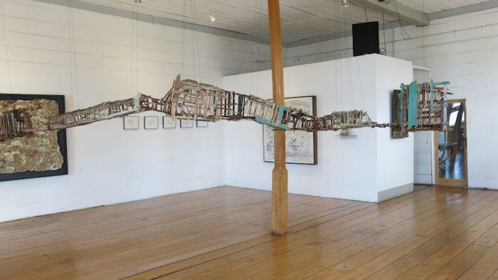 """Exposición """"Impulso dominante"""" de Virginia Guilisasti en Casa Raddatz, Puerto Varas"""