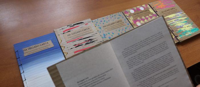 Libro artesanal reúne las mejores cartas escritas por internos del país