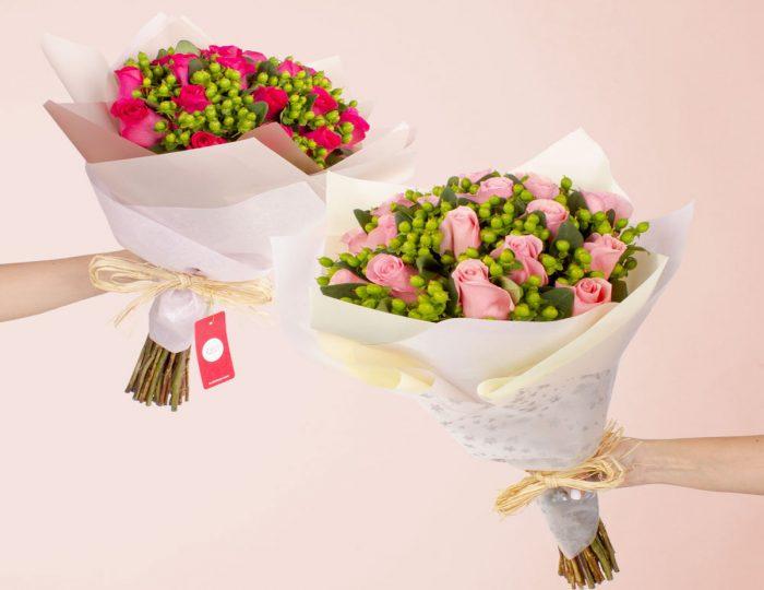El e-commerce apuesta por regalar flores para el día de los enamorados