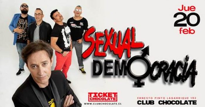 Concierto de Sexual Democracia en Club Chocolate