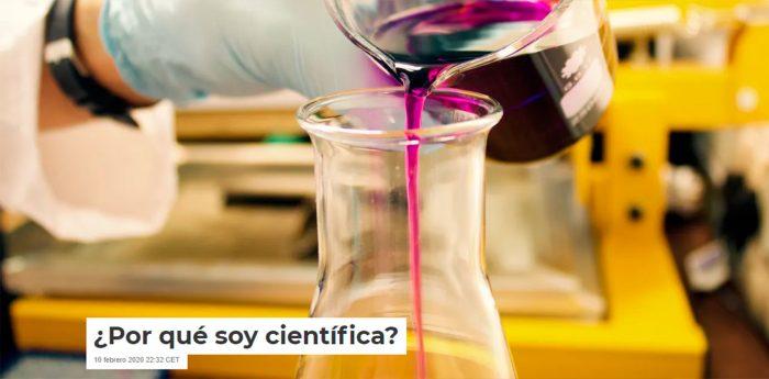 ¿Por qué soy científica?