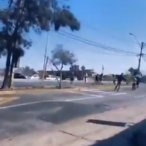 Continúan las manifestaciones de estudiantes secundarios en las calles de Antofagasta