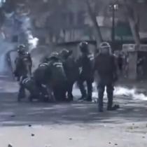Plaza de la Dignidad: Carabineros y manifestantes se enfrentan en otro viernes de movilizaciones