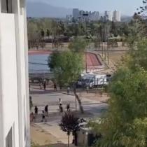 Se registran incidentes en el Estadio Nacional en pleno desarrollo del partido entre la