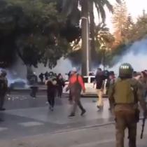 Protestas e incidentes en las cercanías de la Quinta Vergara marcan última jornada del Festival de Viña