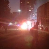 Incendian por segunda vez el Museo Violeta Parra tras incidentes en Plaza de la Dignidad