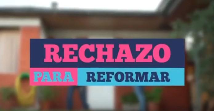 PRO denuncia a Allamand, Schalper y Camila Flores por el video del rechazo a la nueva Constitución