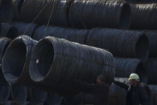 China sigue produciendo acero... pero nadie quiere comprar