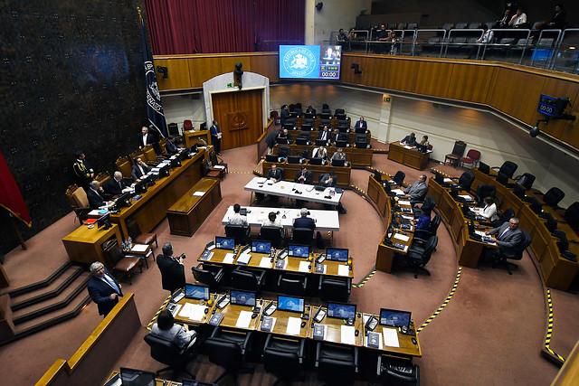 Ausencia de senadores opositores se transforma en el eje del debate en la acusación constitucional contra Guevara
