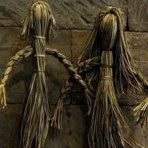 Muestra de artesanía tradicional de la Región de Los Ríos en Museo de Sitio Castillo de Niebla, Valdivia