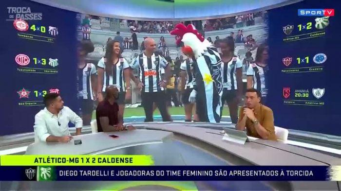 Atlético Mineiro despidió a su mascota por gestos machistas hacia una jugadora