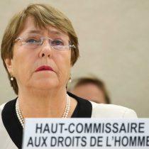 """Bachelet abre los fuegos desde la ONU y subraya que en Chile existe """"la necesidad de garantizar responsabilidades en las violaciones a los DD.HH."""""""