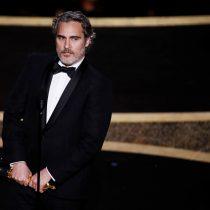 El emotivo discurso de Joaquin Phoenix en los Premios Oscar: