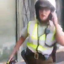 Carabinera lanzó gas pimienta a mujer que solicitó su identificación