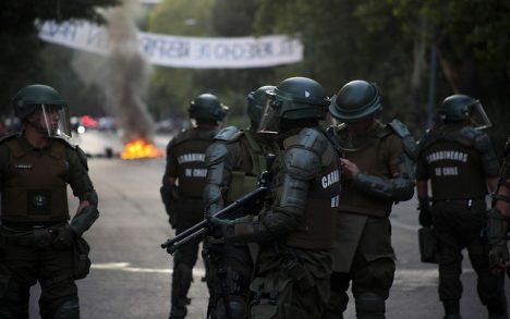 INDH se querella por torturas de carabineros a presidente de Juventud Socialista en Puerto Montt